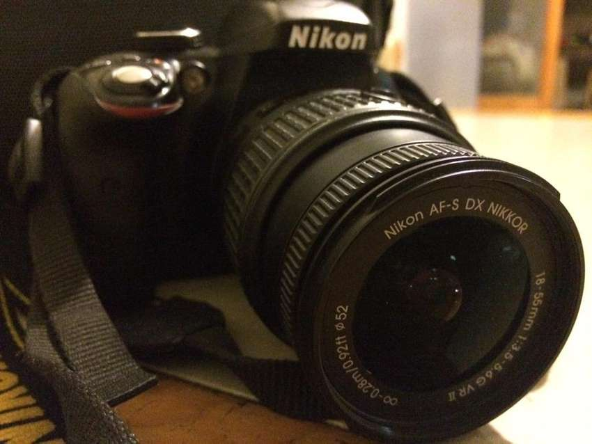 Nikon D3300 with 18-200mm lens 0