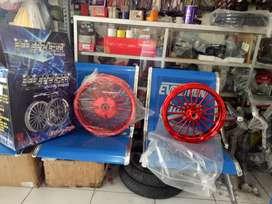 Velg pcx power candy red barang baru model dokar
