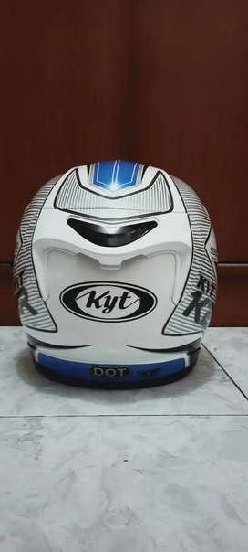 KYT K2 RIDER WH/BL XL