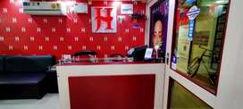 The Jawed Habib salon for sale