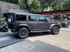 jeep wrangler sahara 80th anniversary 4 dr nik 2021 km low