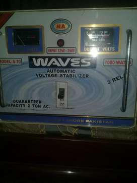 Automatic voltage Stabilizer 7000watts(silver)