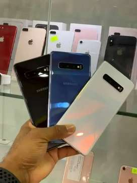 Samsung s10 dot & s10 plus dual sim 10/10 condition pta approved