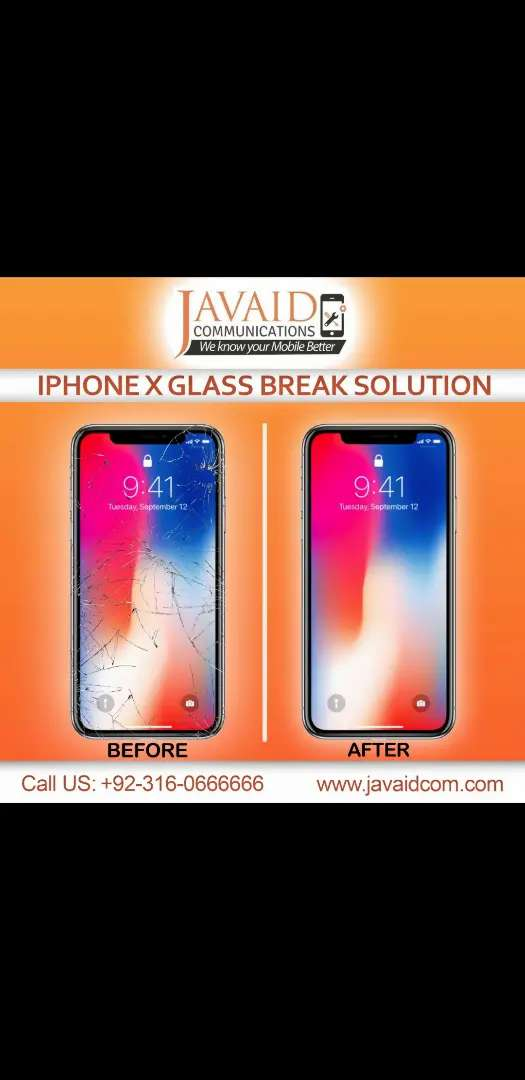 Iphone X glass replacement 0