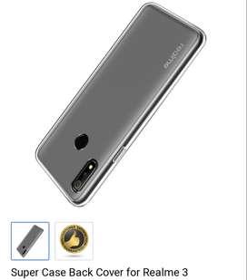 Realme 3 Transparent Case Cover