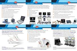 New & Used Ultrasound machine Color Doppler best prices
