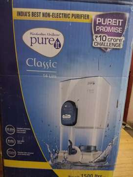 PURE Classic 14Ltr , non electric water purifier2 year old