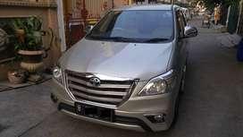 Toyota Kijang Innova 2014 Automatic 2.0 G AT Silver LOW KM Rendah