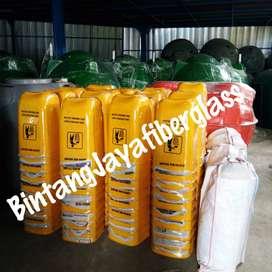 tong sampah oval murah, tempat sampah fiber, bak sampah produksi