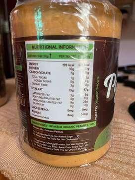 Organic Gluten free Peanut butter