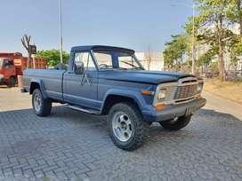 jeep Gladiator M/T diesel thn 1982 sdh diganti dgn mesin LC VX80