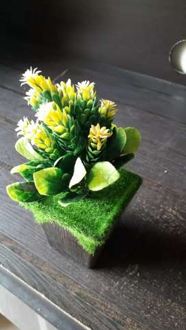 Artificial colorful flower