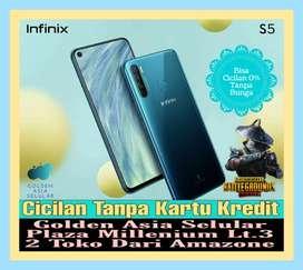 Infinix S5 6/128 GB New || Garansi Resmi || Promo Cicilan 0%