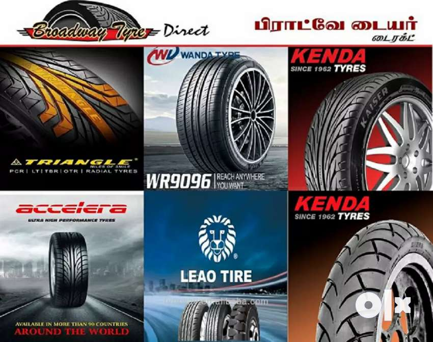 VDS Imported Radial Tubeless Tyres For Sale With Warranty 0
