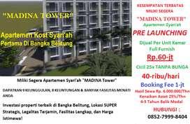 PROMO Jual Apartemen Mahasiswa Di Bangka Belitung