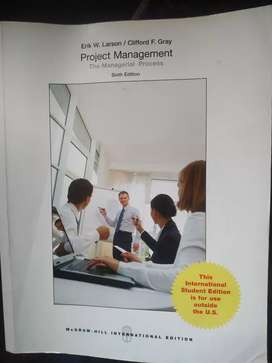Project Management-Mcgraw hills intetnational edition