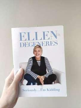 Buku impor ORIGINAL - Seriously.. I'm Kidding by Ellen Degeneres