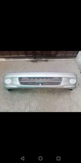 Suzuki cultus genuine front bumper in silver color