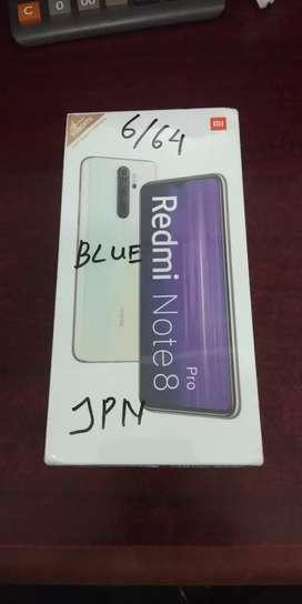 xiaomi note8 pro 6/64 GAransi resmi diJapanese Phone