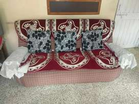 3+2 Wooden Sofa Set