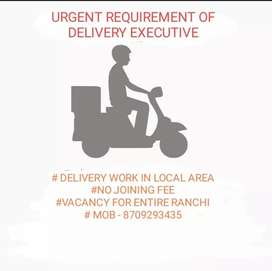 DELIVERY  WORK IN LOCAL AREA