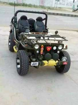 All type modified Jeep and Gypsy