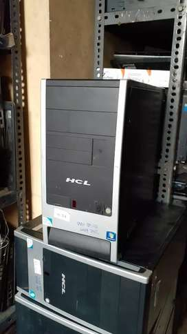 Full Fresh & Running Condition Computer Set With 6 Month Warranty