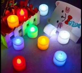 Lampu tidur lilin lampu hias kupu