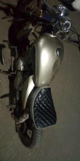 Half modified bike yamaha enticer
