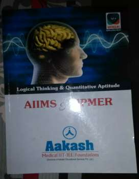 Aakash institute GK& logical thinking and aptitude for aiims