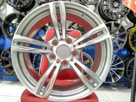 Velg Racing Mobil BMW Type MEZUT L266 HSR Wheel Ring 17 Grey