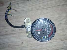 Cafe racer bike meter