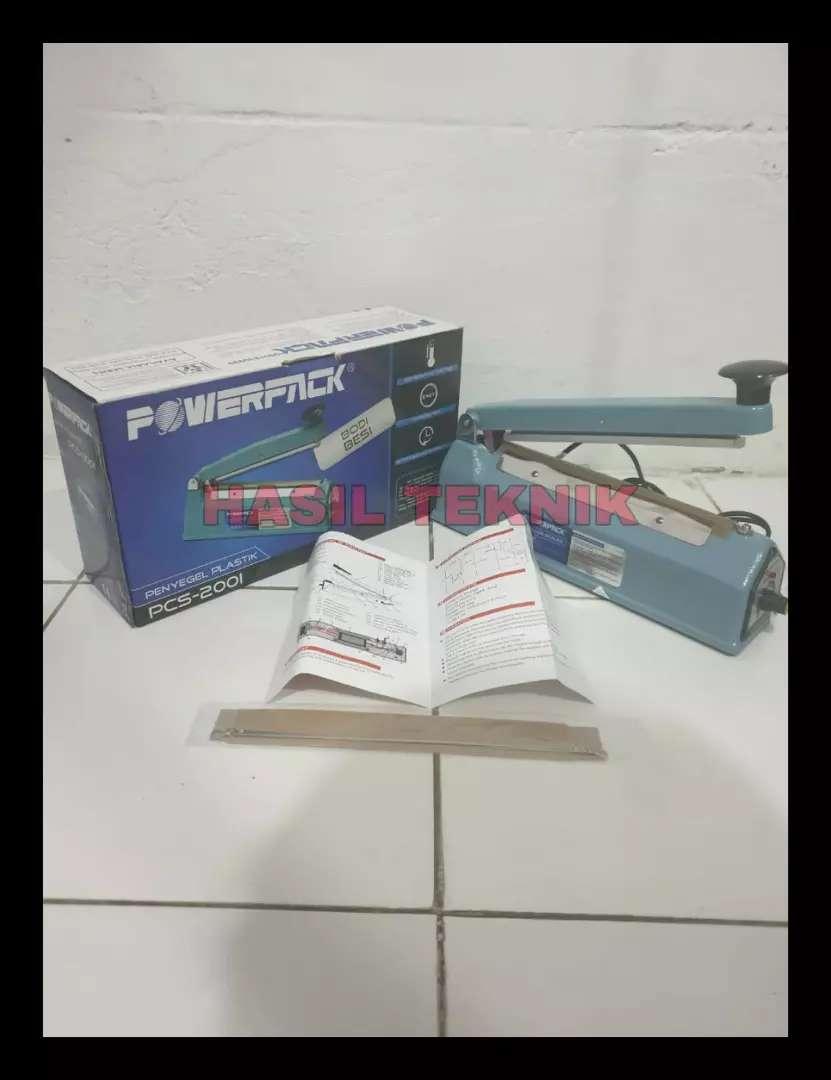 Impulse sealer alat penyegel plastik Powerpack 200I