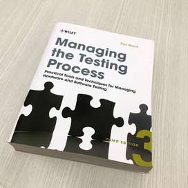 Buku managing the testing process (thrid edition) IT