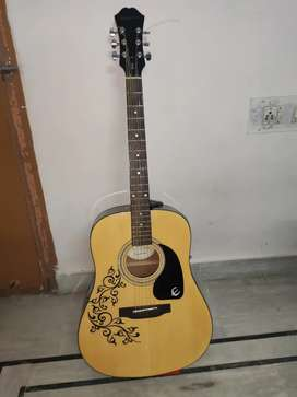 Premium Epiphone acoustic guitar in a fully new condition