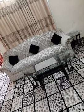 5 Seaters sofa with tables