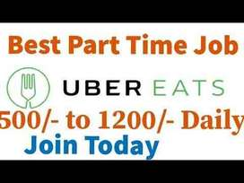 Urgent opening for delivery associate - Uber Eats