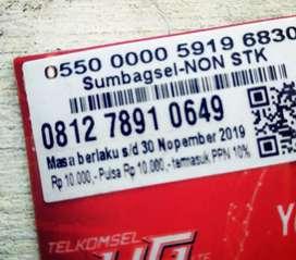Nomor kartu Simpati 78910 lumayan