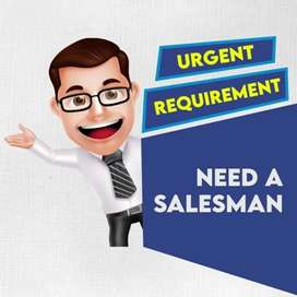 Salesman for reputed distributor in Thiruvalla