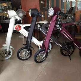 DIJUAL Sepeda Listrik LEHE Smart Scooter (Baru)