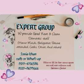 *EXPERT GROUP* Responsible DoMestic Staffs Available.