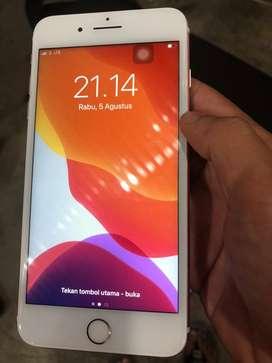 Iphone 7 plus 32gb warna rose gold