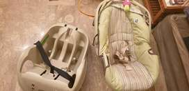 Graco Car seat plus carry cot