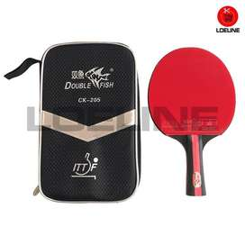 Bad Bat Bet Ping Pong Pingpong Tenis Meja Double Fish CK-205 Original