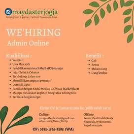 Dicari Admin Online