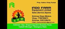 Sale executives for indofarm tractors