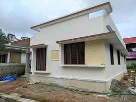 1280SqFt,4.85cent,Single Storied Villa ,Athani near Thrissur- 38lakhs