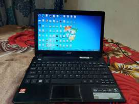 ASPIRE ONE 725 MINI LAPTOP HARDLY USED . RS 9500 ONLY