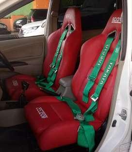Jok sparco & safetybelt takata