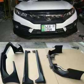 Honda Civic 2017 bumpers
